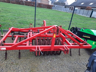 Evers Dales GD21-R45 Triltandcultivator met packerwals